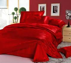 red king size quilt luxury wedding bedding set red jacquard lace queen quilt duvet cover king
