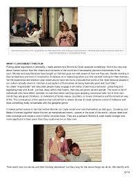 le cinema dreams film essay bonnie and clyde  7 their