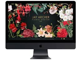 Jay Archer Floral Design Jay Archer Floral Design Raygun Design