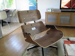 room ergonomic furniture chairs:  full size of ergonomic eames lounge chair design idea dark brown timber lounge chair without ottoman