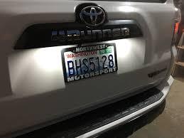 2018 Silverado License Plate Light Bulb 1999 2019 Chevrolet Silverado Led License Plate Lights Pair