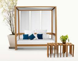 wooden outdoor furniture designs by