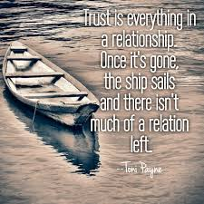 Quotes About Relationships And Trust Cool Quote About Relationships Trust Is Everything In Toni Payne