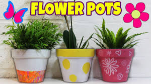 Pot Decoration Designs Painted Flower Pots Diy In Idyllic Flower Pot Designs Pot Painting 33