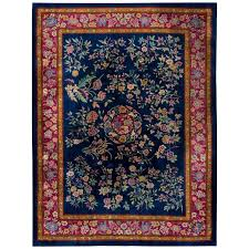 antique chinese art deco rug for