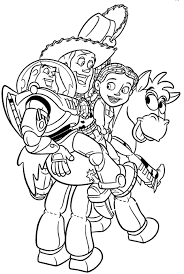 Small Picture Toy Story 2 Coloring Pages Get Coloring Pages