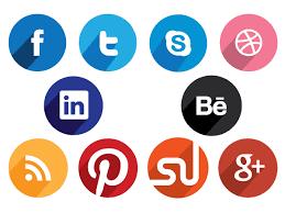 round social media icon. Interesting Round Flat Round Social Media Icons In Icon