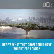 Small Picture Wasted Garden Bridge Cash Could Have Bought Over 2000 Police