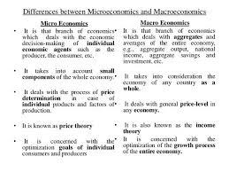 How Does Microeconomics Relate To Macroeconomics Quora