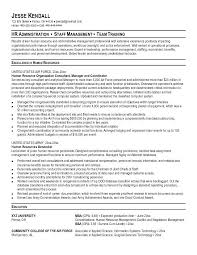 Military Experience On Resume Example Military Sample Resume