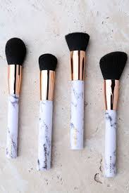 marble makeup brushes. skinnydip london shut the contour marble makeup brush set 1 brushes p