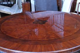 large round dining room tables mahogany