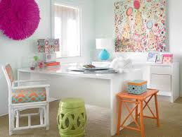 clear office. Colorful Eclectic Home Office Clear D