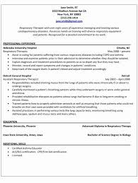Respiratory Therapy Cover Letters Beautiful Resume Example 7 Easy