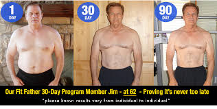 like our fit father 30 day program member jim below who totally transformed health at 62 in the rest of this article we re going to show you our exact 5