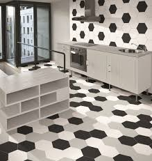 Black And White Tiles Apollo Hexagon White Wall Tiles From Tile Mountain