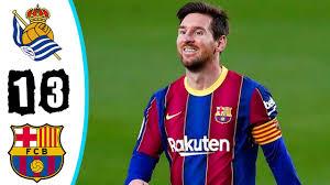 Real Sociedad vs Barcelona 1-2 ...