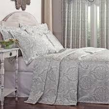santorini damask bedspread