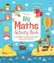 Big Maths Activity Book At Usborne Books At Home Organisers