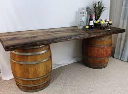 wood barrel furniture. Rustic Wine Barrel Furniture Wood I