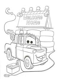 Disney Cars 2 Coloring Pages ぬりえ カーズペーパークラフトぬりえ