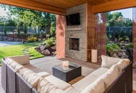 with summer in full swing many people are spending more time outdoors lounging on patios and firing up the barbeque adding a tv to your outdoor space will