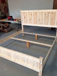 pallet king size bed dyi king size bed frame pallet king size bed diy http www etsy