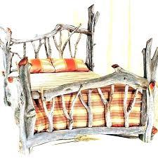 king size log bed frame – cbfdum.site