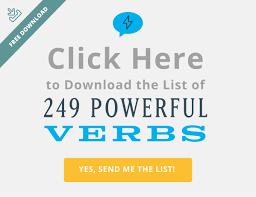 249 Powerful Verbs That'll Instantly Supercharge Your Writing