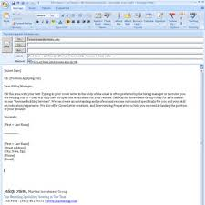 Subject Line For Resume Email Example Cover Letter Sending Cv