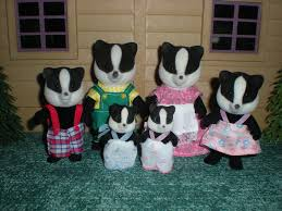 CC Underwood Badger Family (TOMY)