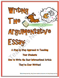 argumentative essay writing the writers workshop approach product  argumentative essay writing the writers workshop approach product from alwayslearning on teachersnotebook com