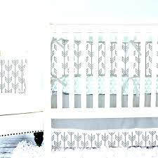 tribal boho nursery bedding girl crib baby arrow navy and gold set