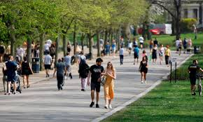 Victoria park (known colloquially as vicky park or the people's park) is a park in the london borough of tower hamlets in east london, england. Hundreds Flock To London S Parks On Sunny Saturday Coronavirus The Guardian