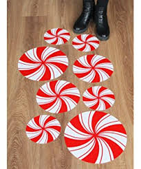 Candy Cane Theme Decorations Amazon Very Merry Christmas Sweet Holiday Scene Setters Add 84