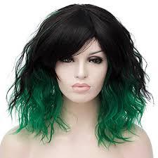 <b>HAIRJOY</b> Synthetic Hair Loveless KAIDOU KIO Light <b>Green</b> Cosplay ...