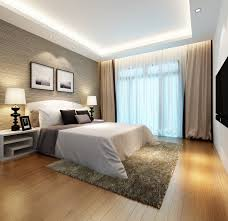 rug under bed hardwood floor. Interior Awesome Master Bedroom Ideas With Fur Rug Under White Bed Excerpt Parquet Floor Hardwood