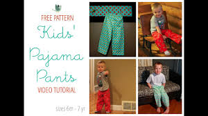 Pajama Pants Sewing Pattern Simple Decorating