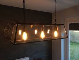 kitchen dining lighting. Black Dar Academy ACA0322 3 Feature Light Kitchen/dining Ceiling Pendant And Squirrel Cage Bulbs Kitchen Dining Lighting