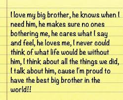 I Love My Brother Quotes New I Love My Brother Quotes Best 48 Best Brotherly Love Images On