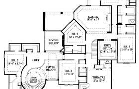 mediterranean house plans floor plan