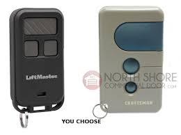 sears craftsman garage door opener remote control 3 function 53680 139 53680