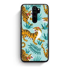 Designer Note 8 Case Xiaomi Redmi Note 8 Pro Blue Tigers Designer Case