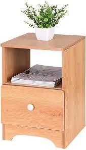 single drawer bedside table nightstand