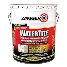 basement waterproofing paint concrete