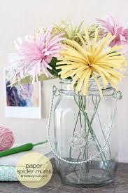 Paper Flower Arrangements 20 Diy Paper Flower Tutorials How To Make Paper Flowers