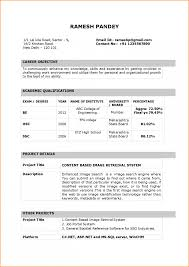 Latest Resume Format For Bca Freshers 2013 Bongdaao Com Accountant
