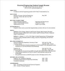 Resume Pdf Template Best Sample Resume Template For Fresher 10 Free