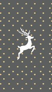 christmas backgrounds tumblr iphone. Plain Tumblr Gold And Grey Reindeer Wallpaper For IPhone Christmas Backgrounds Tumblr Iphone R