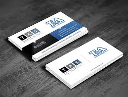 entry 155 for t a supply tas flooring business card design